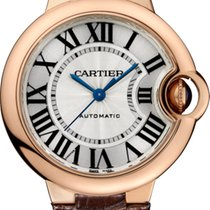 Cartier BALLON BLEU DE CARTIER WATCH  33 mm, 18K Pink Gold,...