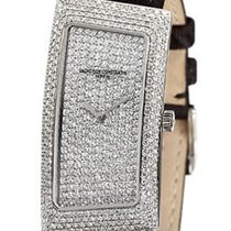 Vacheron Constantin 1972 Grand Curve Paved in White Gold with...