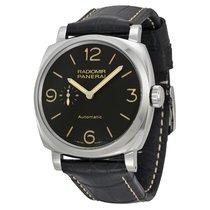 Panerai Radiomir 1940 Automatic Black Dial Black Leather...