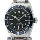 Tudor Heritage Black Bay Steel 41mm Black Dial Blue Bezel 2015...
