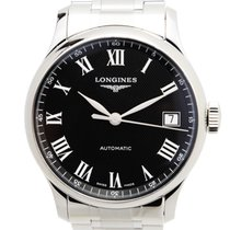 Longines Master Stainless Steel Black Automatic L2.689.4.51.6