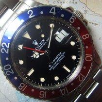 Rolex 1985  STUNNING PEPSI GMT 16750 PEPSI ROLEX SERVICE PAPER