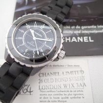 Chanel J12  (full set: papers, box) Automatic Black Ceramic 38 mm