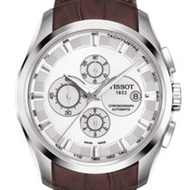 Tissot Couturier Silver Dial Chronograph