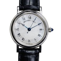 Breguet Classic 18k White Gold Silver Automatic 8067BB/52/964