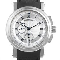 Breguet Automatic Mens Marine Chronograph Watch 5827BB/12/5ZU