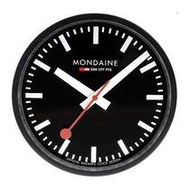 Mondaine Wanduhr 25 cm - schwarz A990.Clock.64SBB