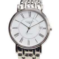 Longines Presence Stainless Steel White Automatic L4.921.4.11.6