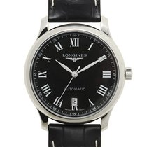 Longines Master Stainless Steel Black Automatic L2.628.4.51.7