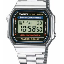 Casio A168WA-1YES Collection Herren 35mm 3ATM