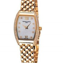 Frederique Constant Art Deco 18K Yellow Gold Plated Women'...