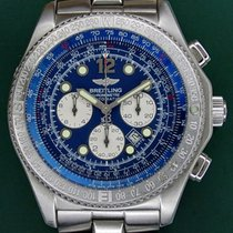 Breitling B-2 Fighter 43mm Automatic Chronograph Blue Dial...