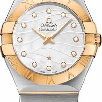 Omega Constellation Quartz 27mm 123.20.27.60.55.005