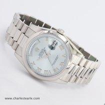 Rolex Platinum Day-Date Ice Blue Ref.118206