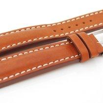 Breitling Kalbslederband braun mit Dornschliesse 24  - 20 mm