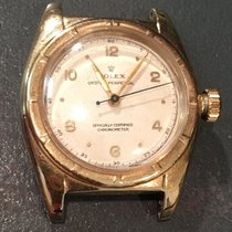 Rolex 5015 Vintage Antique 14k Gold Bubbleback  Circa 1940&#39...