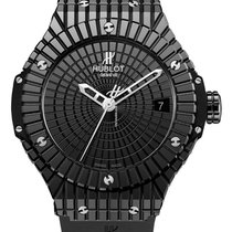Hublot BIG BANG 41 MM BLACK CAVIAR -  100 % NEW - FREE SHIPPING