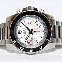 Tudor Grantour Chronograph Stahl Uhr 20350N Papiere Box 2012