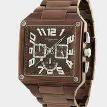 Stuhrling Officer Chronograph Steel Men's Watch 828.336Z59