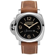 Panerai PAM 557 LUMINOR 1950 47mm POLISHED STEEL 2016
