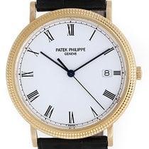 Patek Philippe Yellow Gold Calatrava Men's Quartz Watch...