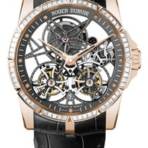 Roger Dubuis Excalibur Skeleton double flying tourbillon