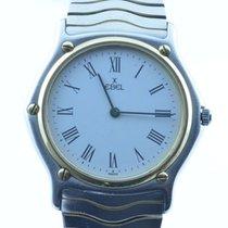 Ebel Classic Wave Herren Uhr Stahl/750 Gold 37mm