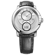 Harry Winston [NEW] Midnight Big Date 42mm automatic 18K white...