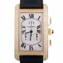 Cartier Tank Americaine Yellow Gold 750
