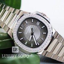 Patek Philippe Nautilus Grey 18K White Gold Ladies