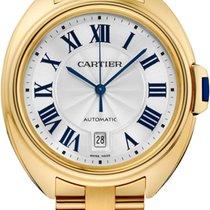 Cartier Cle De Cartier Automatic 40mm 18kt Yellow Gold WGCL0003