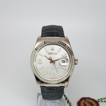 Rolex Oyster Perpetual Datejust White Wave Dial REF: 116139