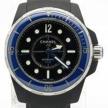 Chanel J12 Marine H2561 Ceramic Pvd 38mm Automatic Mens Watch...