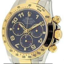 Rolex Daytona 2Tone Blue Dial  Y Serial Ref. 116523