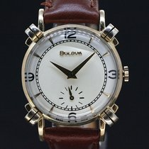 Bulova Elegance white dial gold plaque