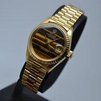 Ρολεξ (Rolex) Datejust 18K Gold President Tiger Eye Dial 1...