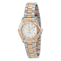 TAG Heuer Aquaracer Mother of Pearl Dial 18kt Rose gold and...