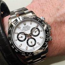 ロレックス (Rolex) [NEW] Daytona 116500LN White Cerachrom Black Bezel