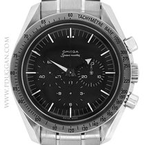 Omega stainless steel Speedmaster Broad Arrow