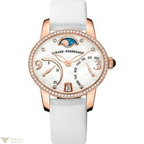 Girard Perregaux Cats Eye Bi- Retro 18K Rose Gold &...
