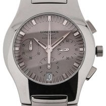 Longines Oposition 40 Chronograph Grey Dial