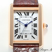 Cartier TANK SOLO XL ROSEGOLD 750 STAHL  AUTOMATIK