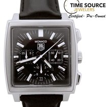 TAG Heuer Monaco Chronograph Automatic Stainless CW2111-0...
