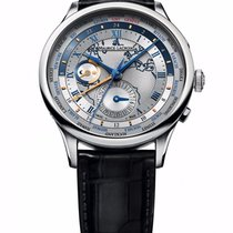 Maurice Lacroix Masterpiece Worldtimer Stainless Steel