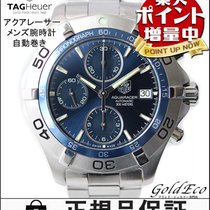 TAG Heuer 【タグホイヤー】アクアレーサー メンズ腕時計クロノメーター 自動巻オートマ シルバーステンレス...