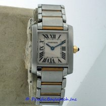 Cartier Tank Francaise Ladies W51007Q4 Pre-owned