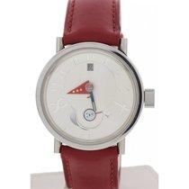 Alain Silberstein Men's  Moon Phase Stainless Steel Watch