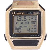 Omega Sensor Stahl Quarz Chronograph Multifunktion LCD...