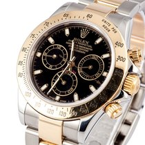 Rolex New Cosmograph Daytona 40mm 116523 Black Dial