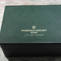 Frederique Constant vintage watch box green leader with...